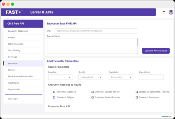 FAST+-SERVER & API-1