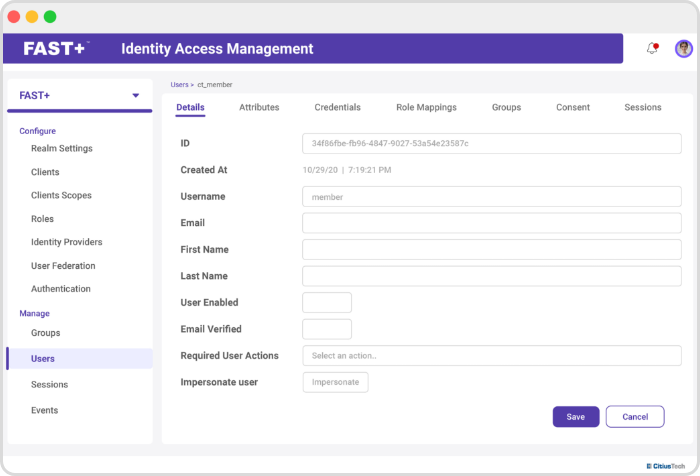 Identify Access  Mgmt