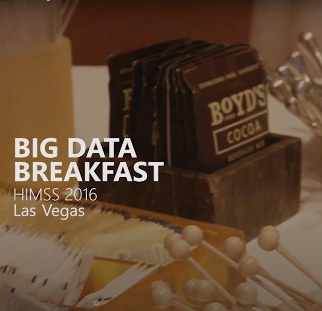 CitiusTech Big Data Breakfast, HIMSS 2016